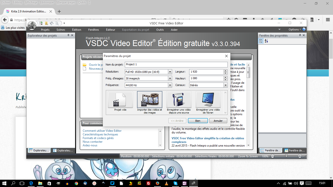 vscd free video editor un tr s bon soft de montage vid o gratuit pour windows le coutelas de. Black Bedroom Furniture Sets. Home Design Ideas