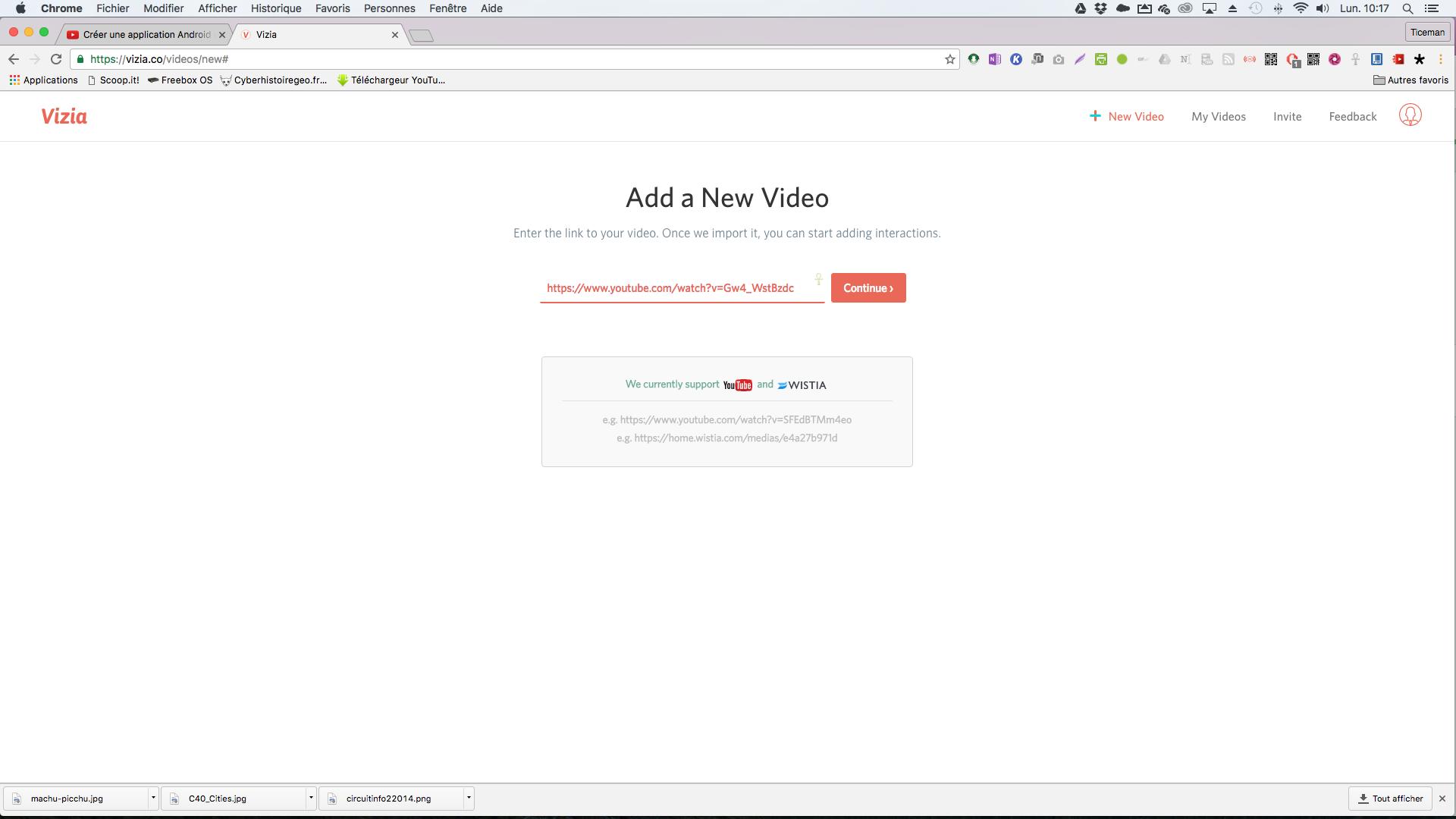 Vizia: insérer des quiz, sondages, questions ouvertes et interactivité dans vos vidéos en ligne et collecter les résultats