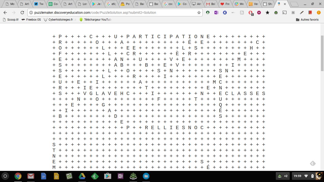 Puzzle maker cr er des mots m l s labyrinthe mots crois s et bien d autres l ments - Grille de mots meles a imprimer ...