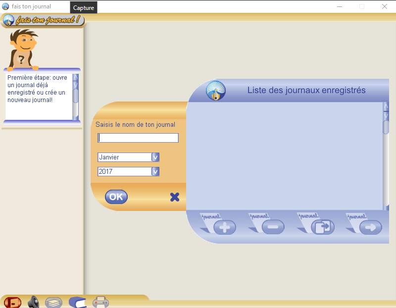 logiciel gratuit pour créer un journal