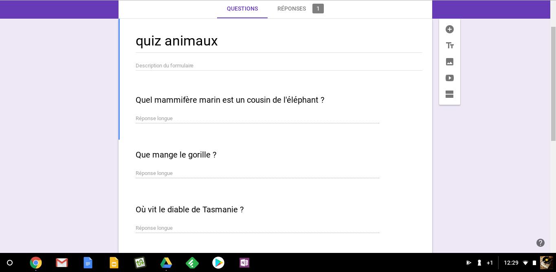 Gformit: transformer n'importe quelle liste de questions en formulaire google automatiquement