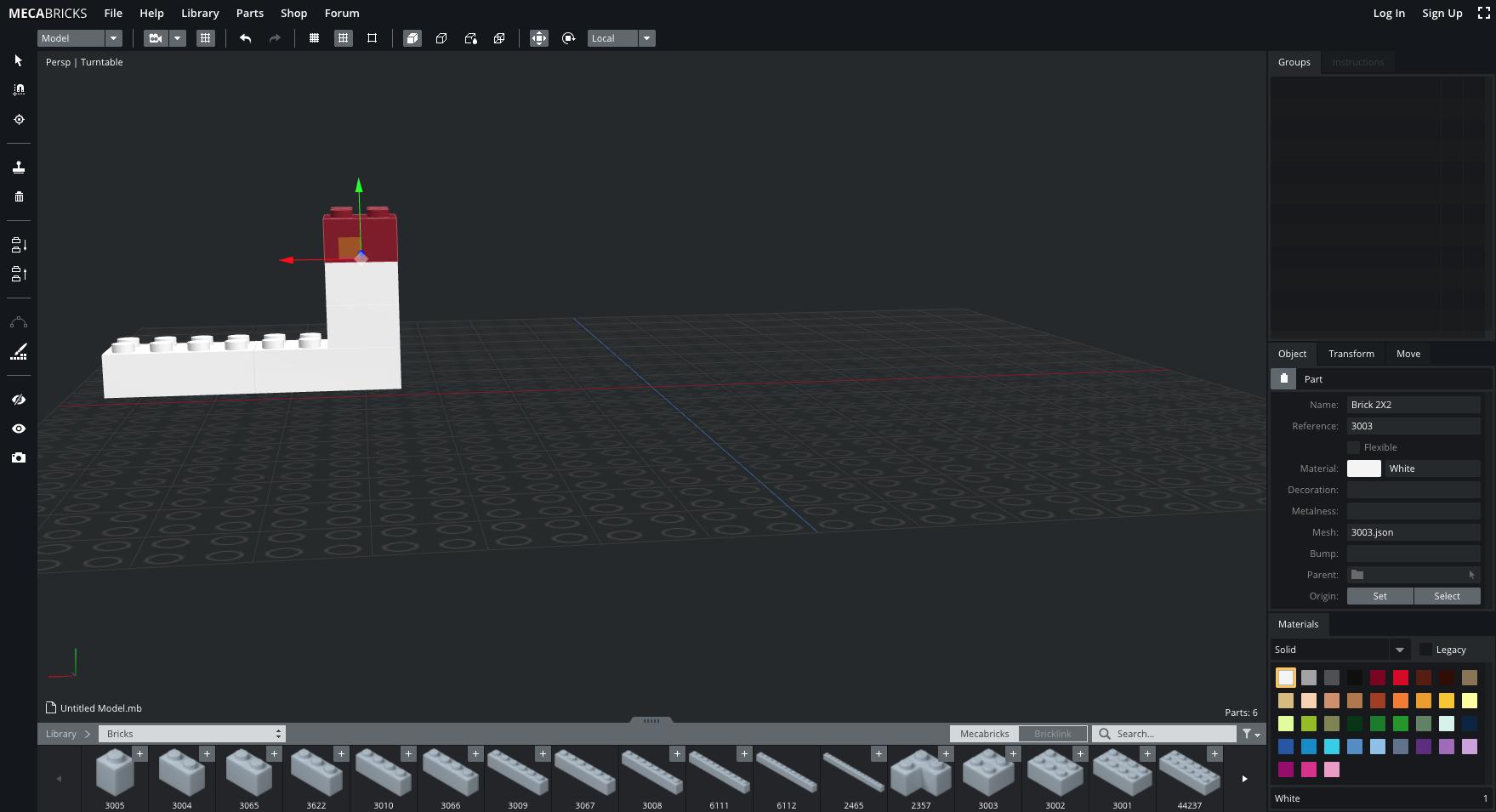 Mecabricks: réalisez vos constructions Lego en ligne