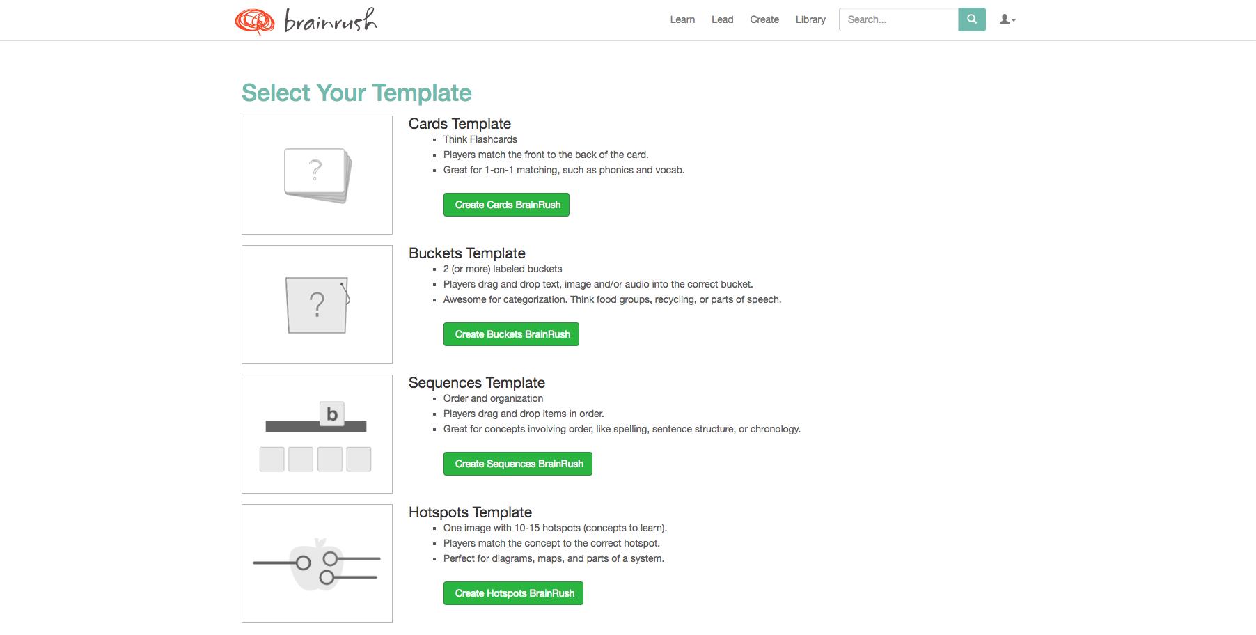 Brainrush: créer facilement des exercices jouables en ligne