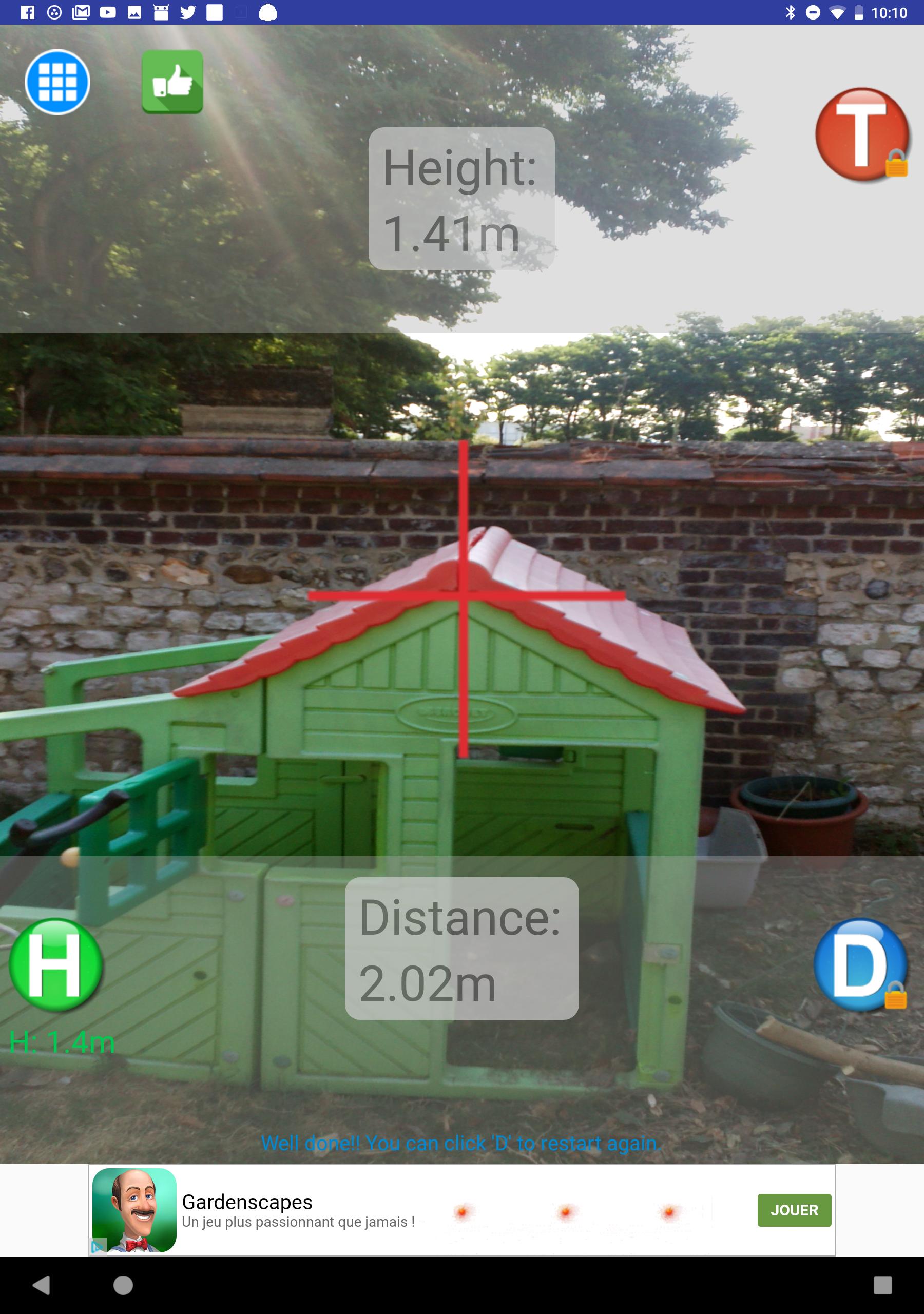 Distance Meter: Mesurez votre environnement avec une application Android
