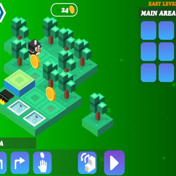 Algorithm city: une application pour l'initiation à la programmation