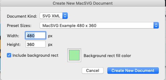 Macsvg: un logiciel opensource pour vos animations multimédias sur Mac