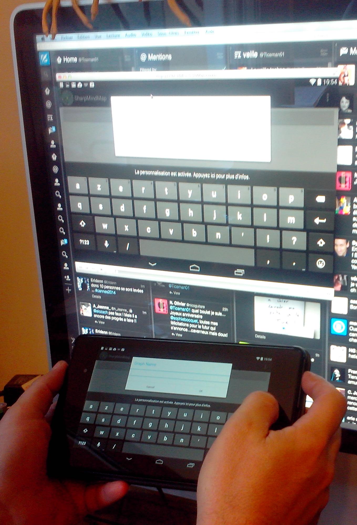 Screen stream afficher l cran de votre android sur n for Quel ecran pc