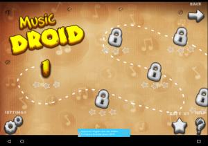 music-droid-choix-niveau