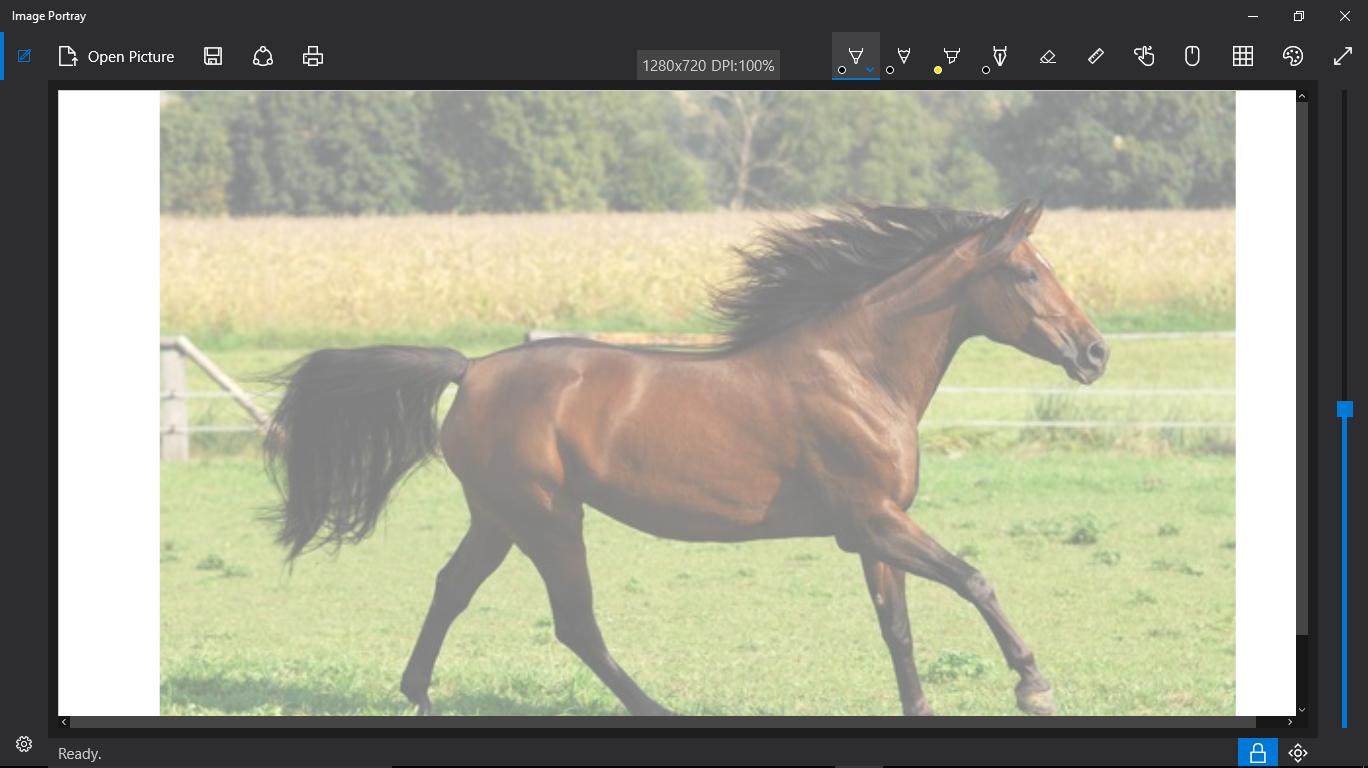 Appli Pour Dessiner Sur Les Photos image portray: une application de dessin windows, parfaite pour