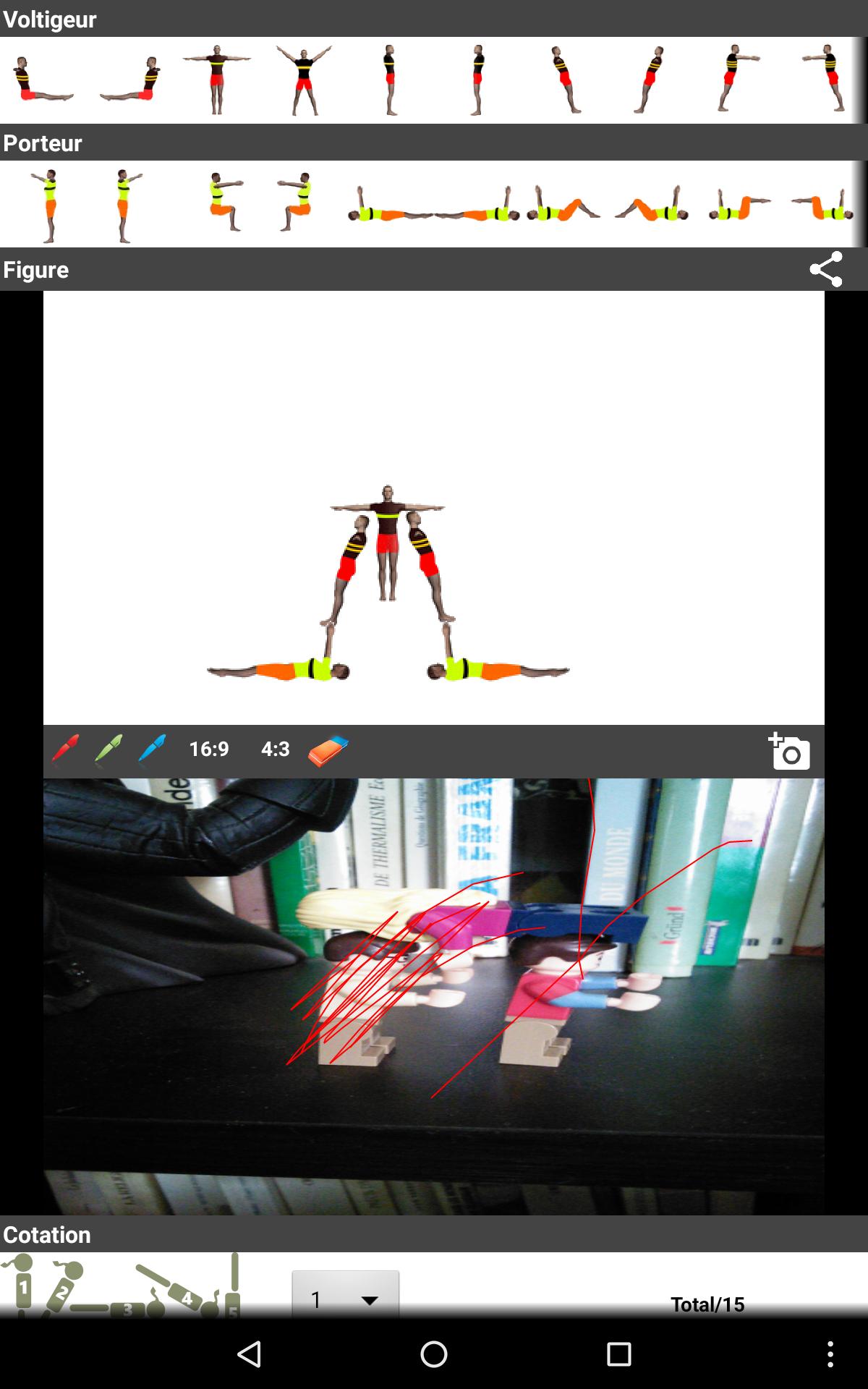 Acrosport Creator: Imaginez des figures d'acrosport et comparez les aux réalisations réelles | Le propulseur de Ticeman