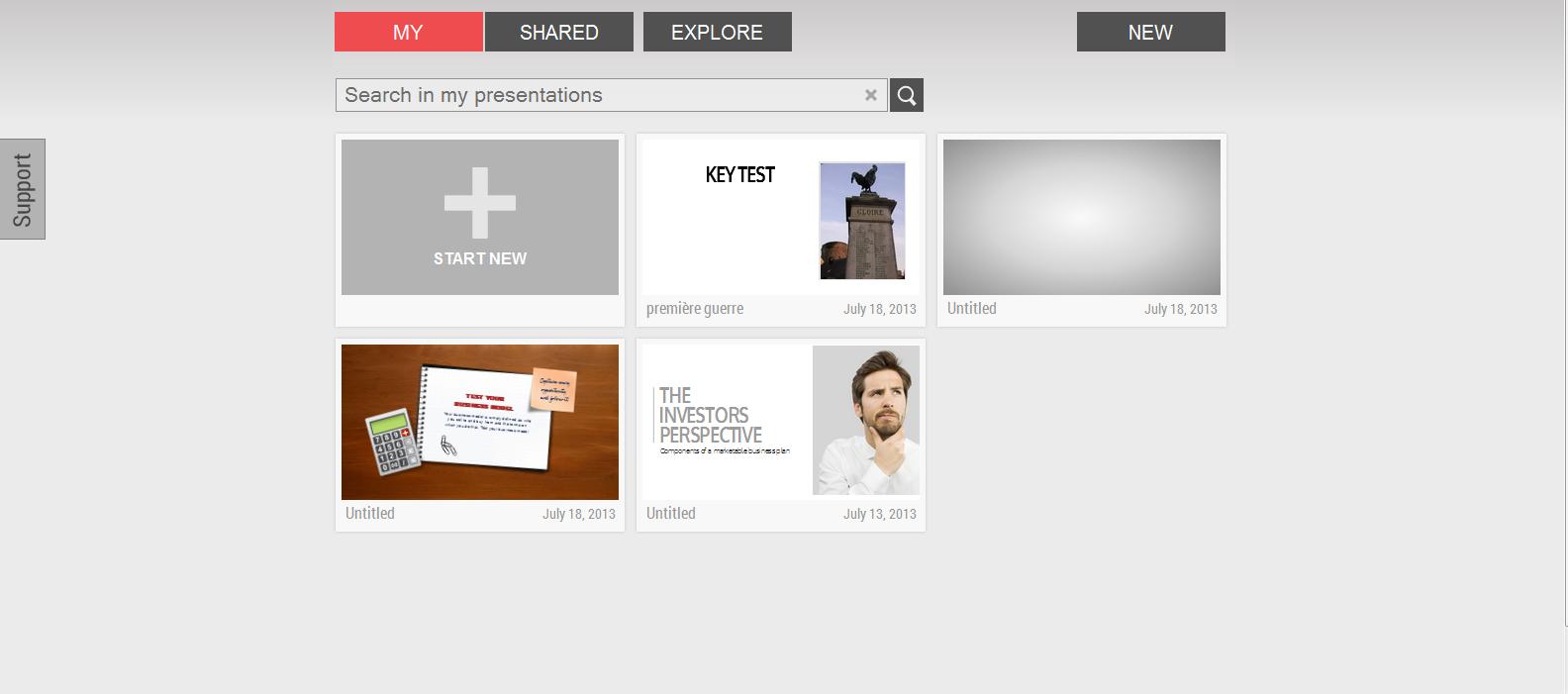 Emaze: créer des présentations en html5 très simplement
