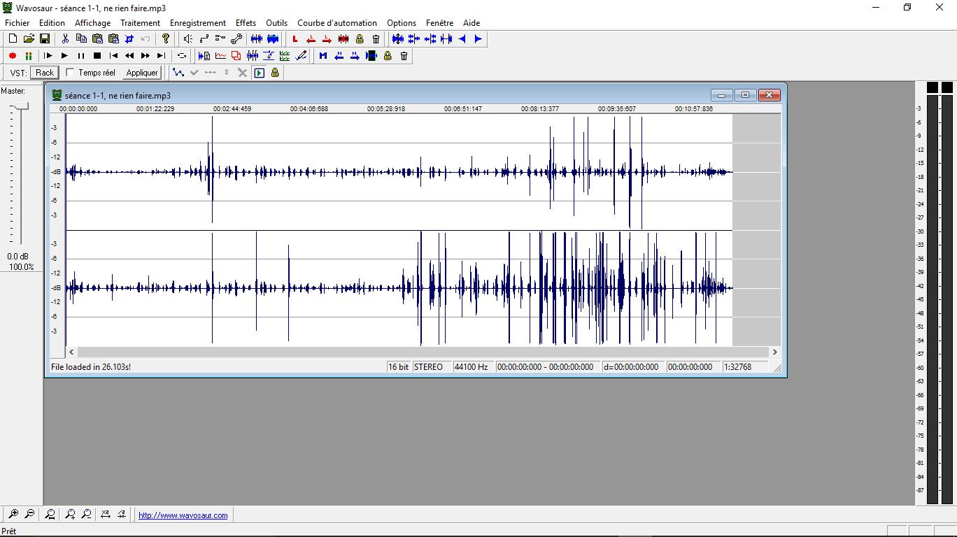Wavosaur: un editeur audio très pro, gratuit et très léger