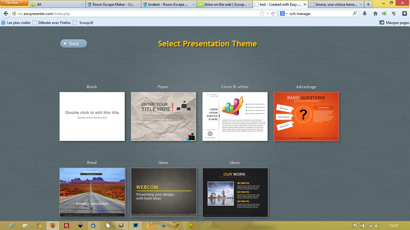 Visme: Créer de riches présentations interactives et animées en ligne