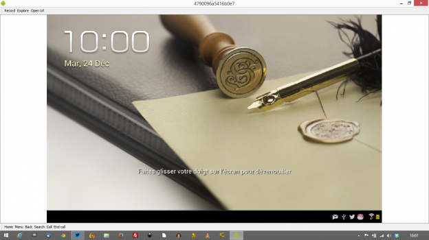 Droid Screencast: enregistrer très facilement l'écran de sa tablette