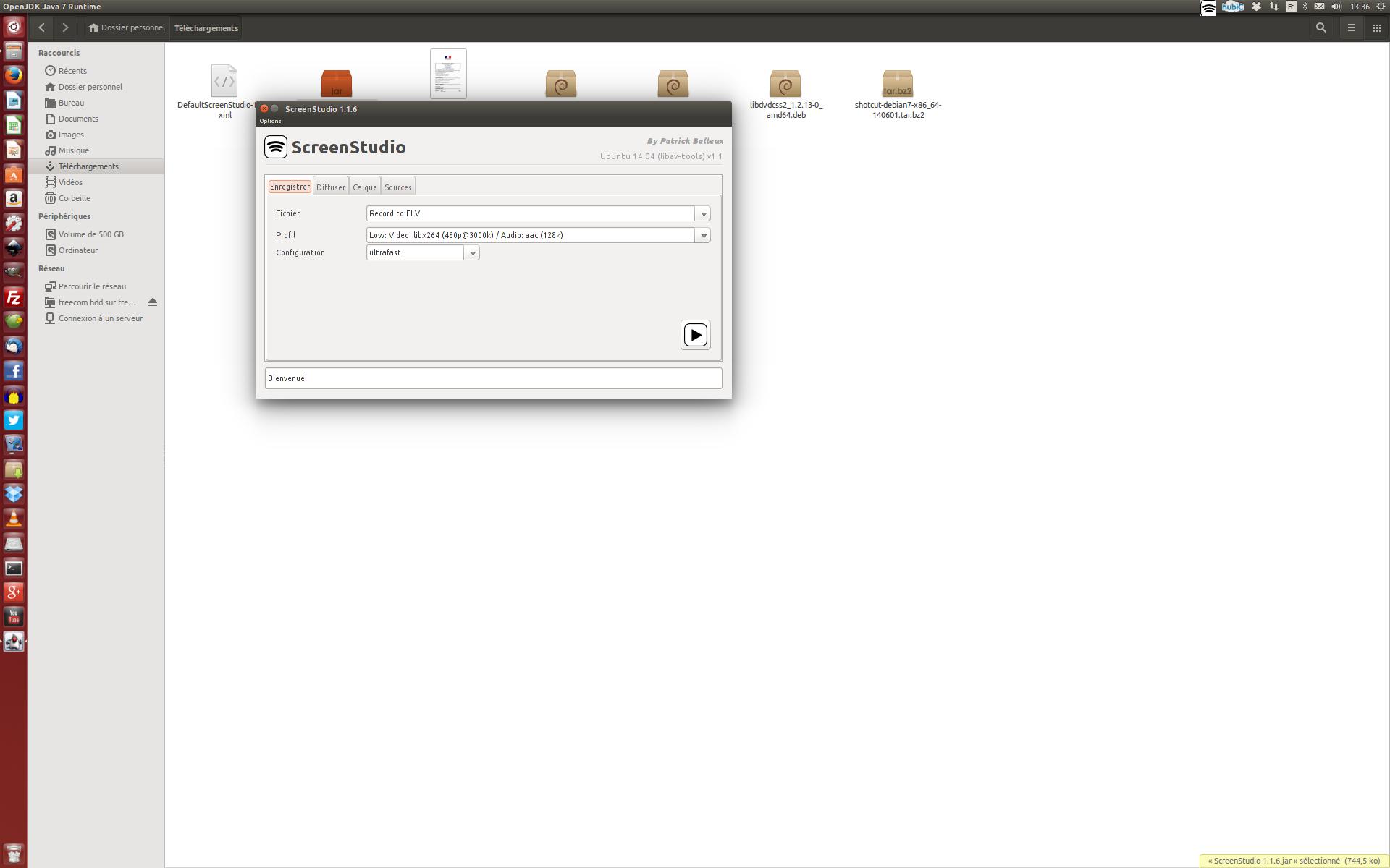 Screen studio: excellent outil pour enregistrer son écran en vidéo et le diffuser en direct en streaming sur Linux et Mac