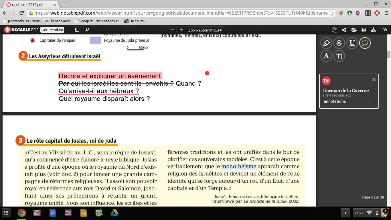 Notable pdf: une extension chrome pour modifier et annoter les fichiers pdf