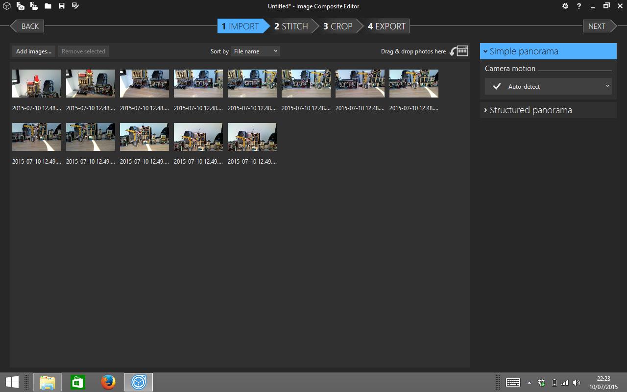 Microsoft Image Composite Editor: créer des panoramas gigantesques à partir de vos photos et vidéos (Windows)