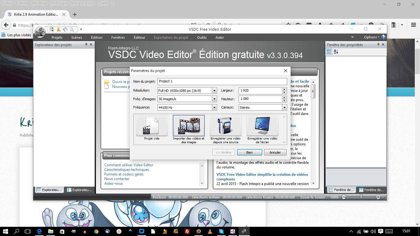 VSCD free video editor: un très bon soft de montage vidéo gratuit pour Windows
