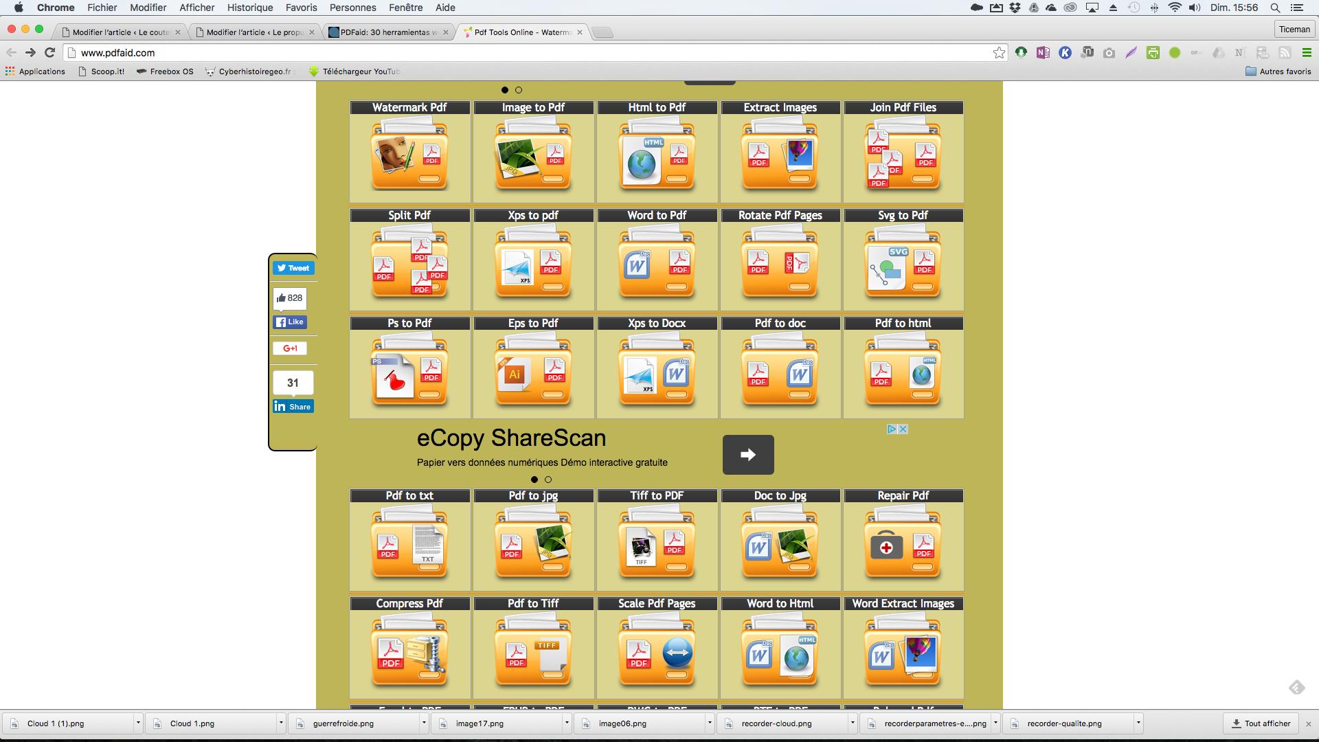 pdf aid: 30 outils en ligne pour  tout faire avec vos pdf