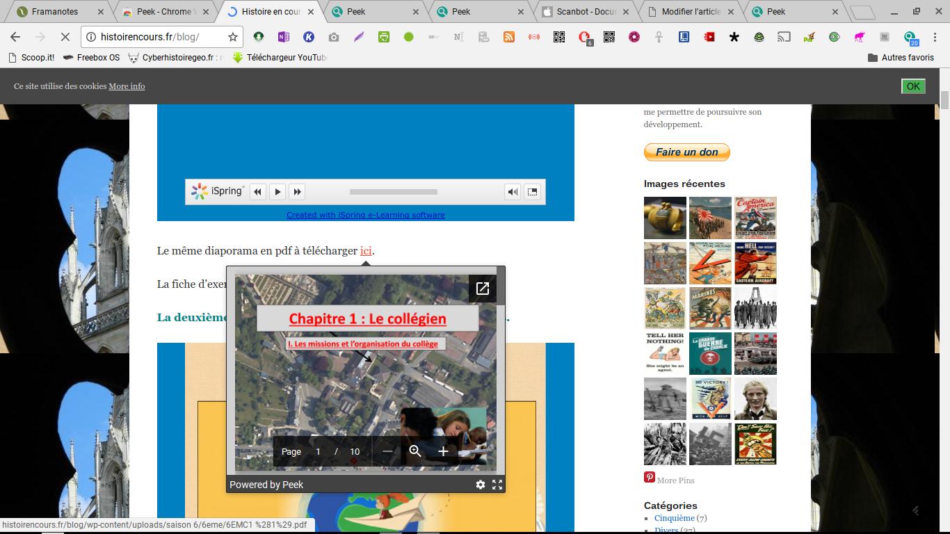Peek: prévisualisez le contenu de vos liens avant de télécharger