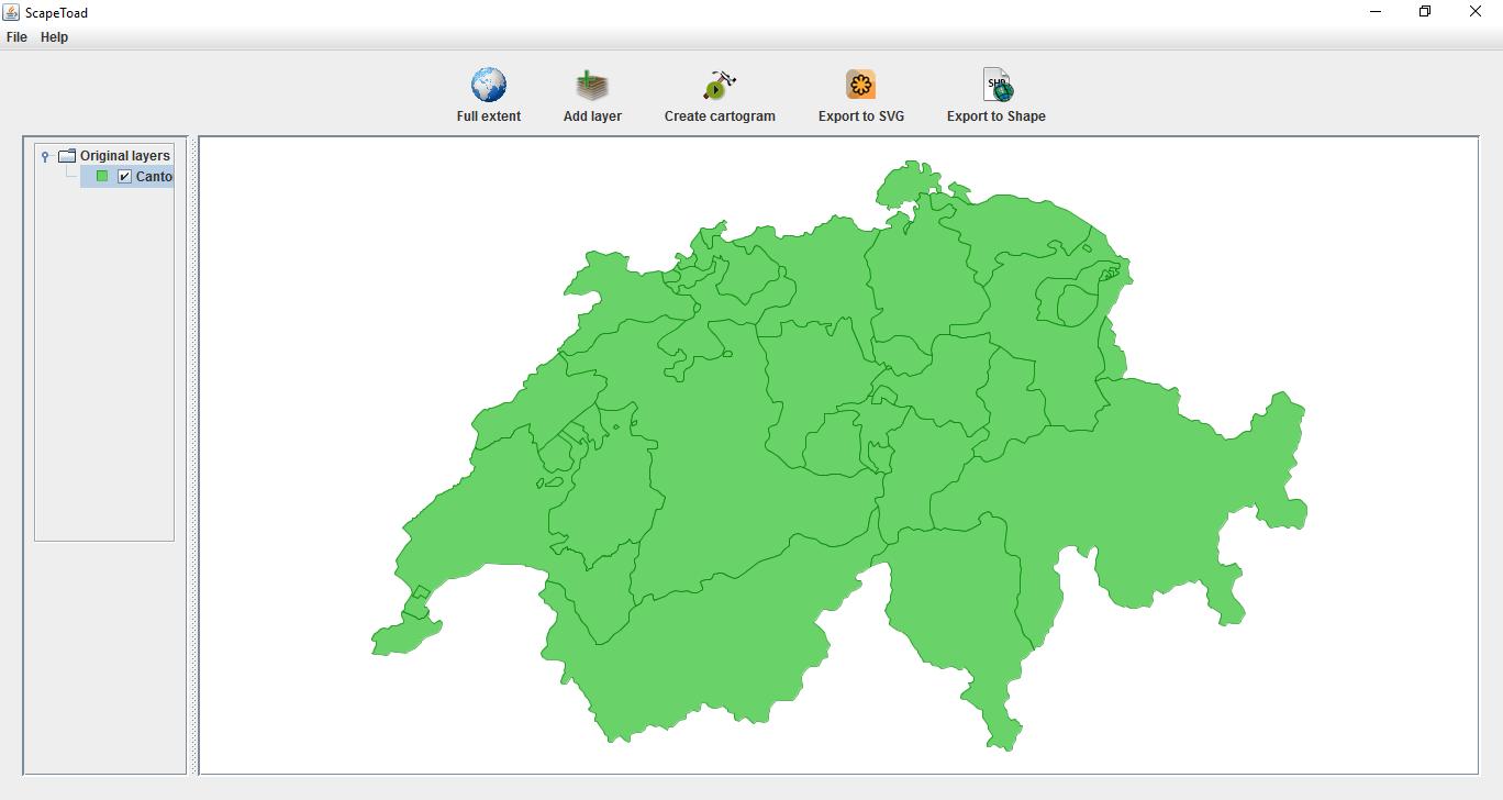 scapetoad: un logiciel opensource pour créer des cartes par anamorphose