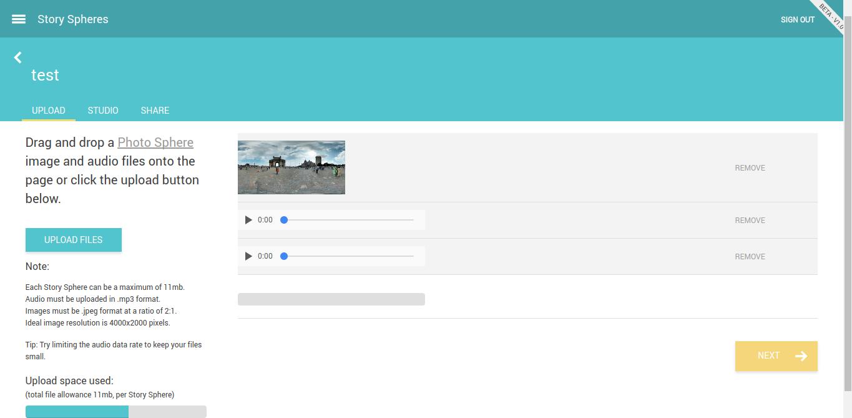 Story sphères: racontez vos histoires en réalité virtuelle ou créez de véritables visites virtuelles