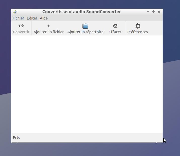 Sound Converter: un très pratique convertisseur audio pour Linux