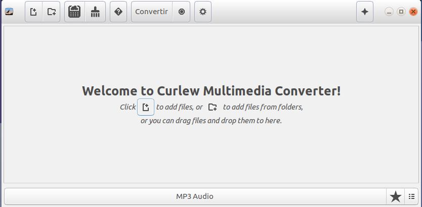 Curlew (courlis): un très bon convertisseur audio et  vidéo pour Linux