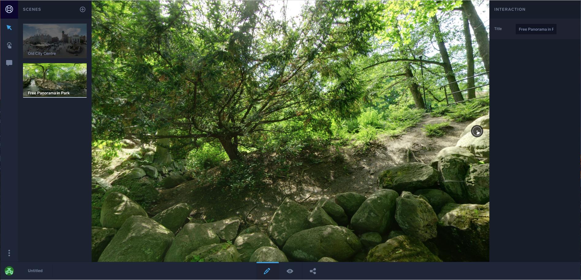 Vizor: réaliser des visites virtuelles avec vos  photographies à 360°