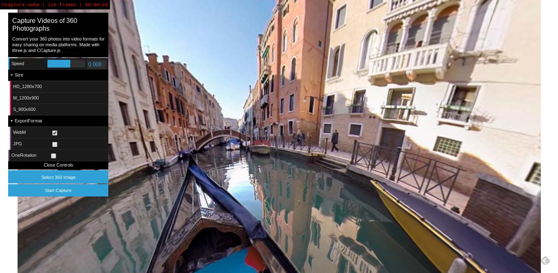 360 Photo to video: transformez vos images panoramiques en vidéos