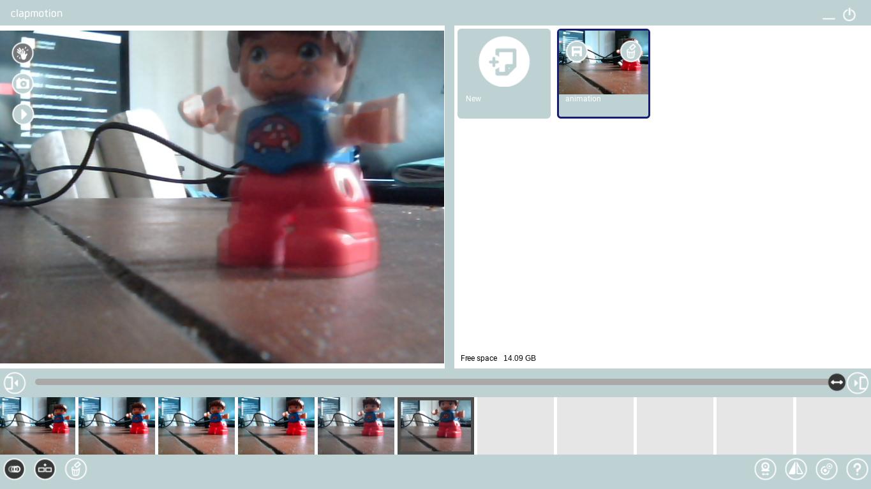 Clapmotion: l'animation image par image en un claquement de main simplement avec chrome