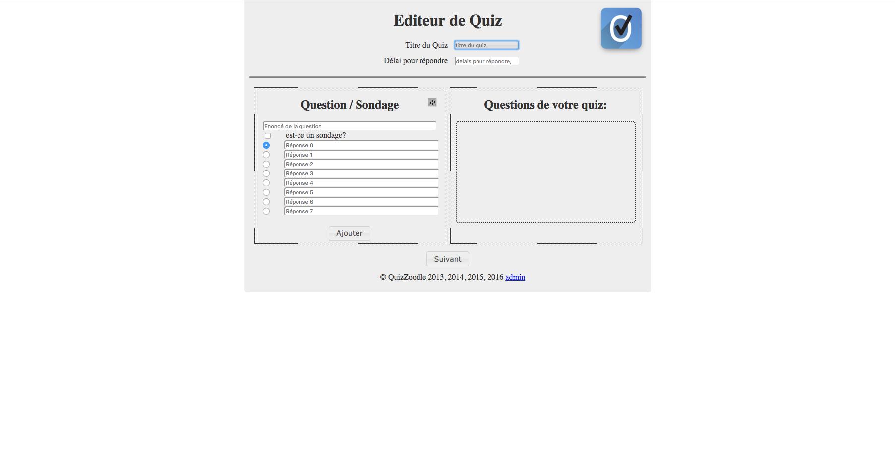 Quizhoodle: une solution pour remplacer boîtiers et applications de vote