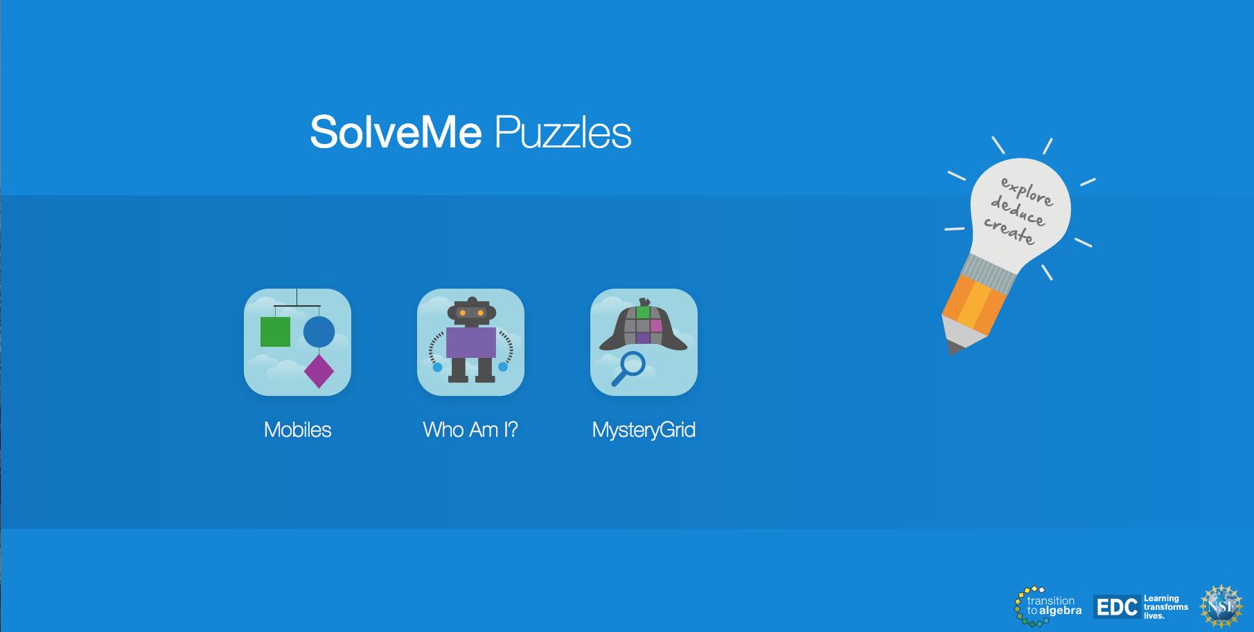 SolveMe Puzzles: créer et jouer à des jeux mathématiques en ligne