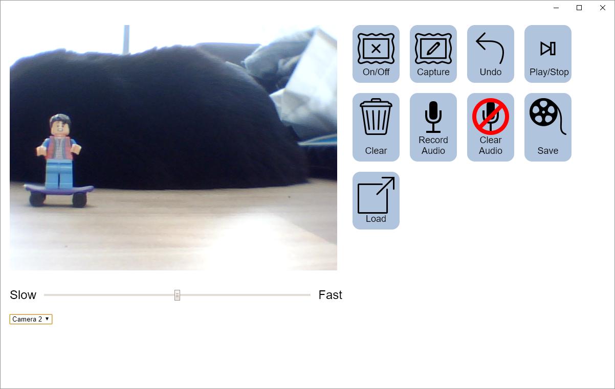 Stop motion animator: l'animation image par image simplement avec chrome