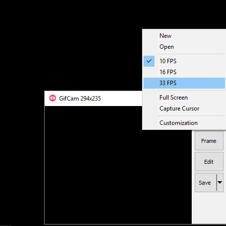 Gifcam: créez un gif en filmant votre écran sur Windows