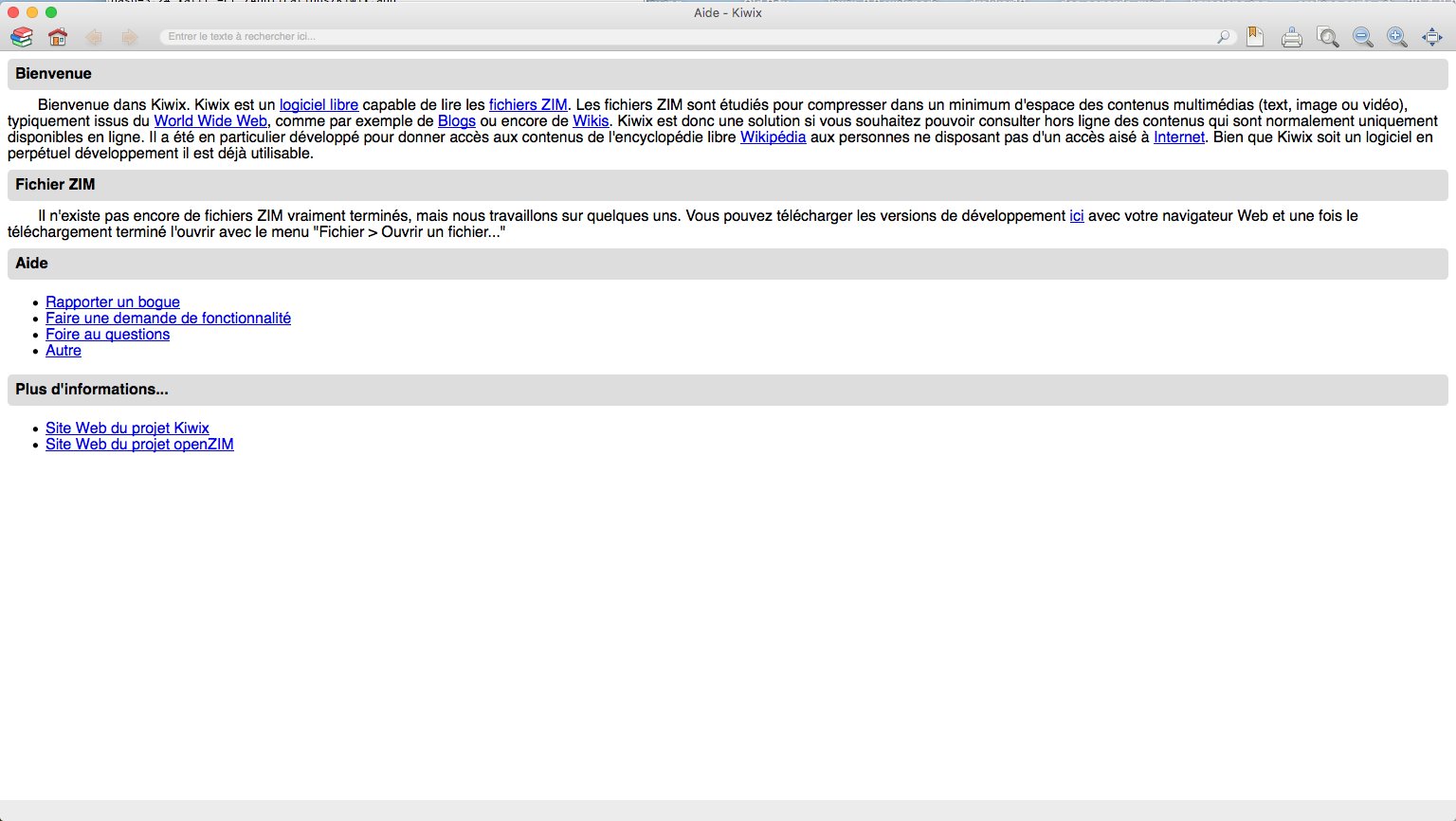 Kiwix: tout wikipedia sans connexion sur tous vos appareils