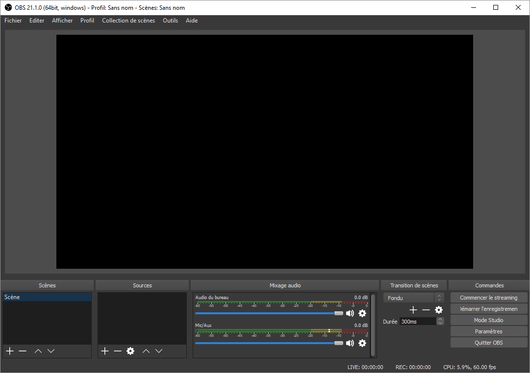 OBS Studio: un logiciel open source très pro pour filmer et diffuser l'écran de son ordinateur (linux, mac, windows)