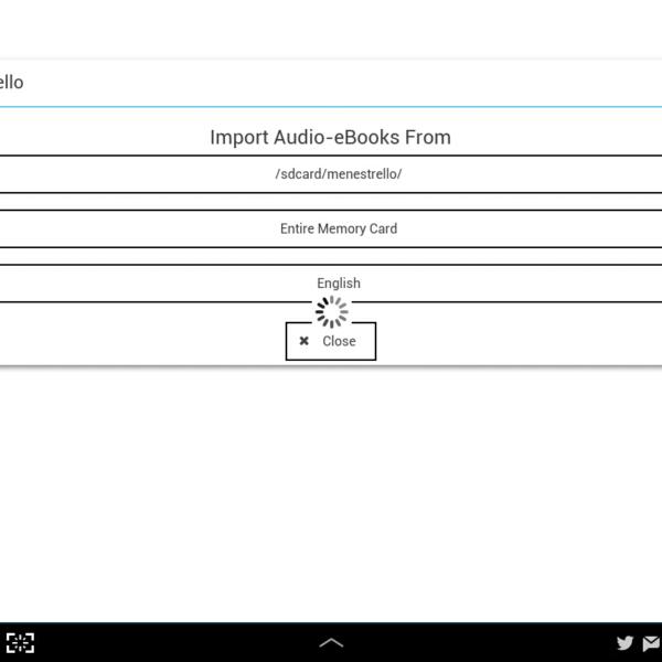 Menestrello: un lecteur de epub audio très prometteur pour Androidb et iPad