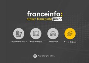 Application France info Junior: la meilleure façon de produire une émission de radio avec vos élèves