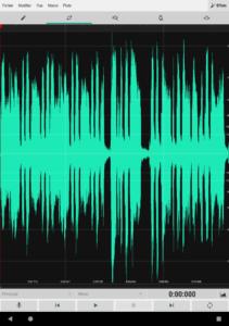 Wave Editor: un editeur audio pratique pour Android