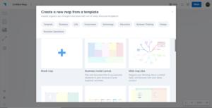 Plectica: vos cartes mentales et diagrammes  collaborativement (ou pas)