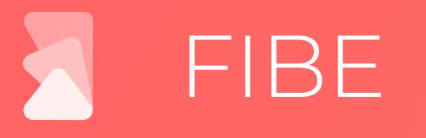 Fibe : bannières, posters et toute composition graphique sur Android et iPhone/iPad