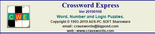 Crossword Express: créez vos mots de lettres et de chiffres à imprimer