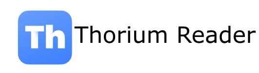 Thorium Reader : une très bonne solution pour lire vos livres numériques sur Linux, Mac et Windows.