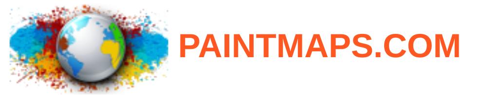 Paintmaps: une autre solution pour créer facilement des cartes géographiques (et accessoirement télécharger des fonds de carte).