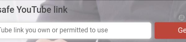 SafeYoutube : diffuser ses vidéos youtube ou un extrait précis sans pub ni suggestions.