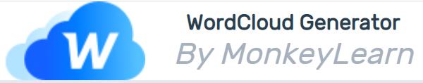MonkeyLearn Wordcloud Generator : un générateur de nuages de mots basique mais pratique.