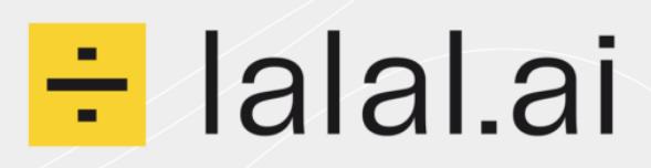 Lalal.ai : dissocier les pistes vocales et instrumentales de vos fichiers audio.