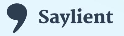 Saylient : transcrire automatiquement ses contenus audio et vidéo.