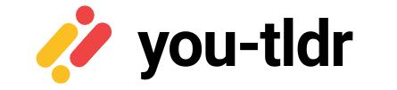 You tldr : transcrire automatiquement les vidéos YouTube.